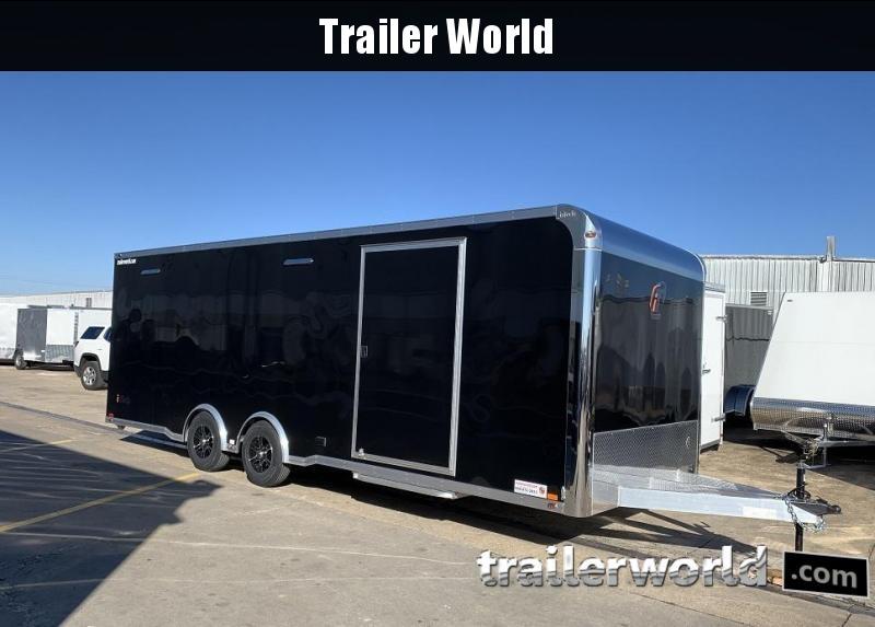 2020 inTech  24' Aluminum Enclosed Race Trailer w Full Access Door