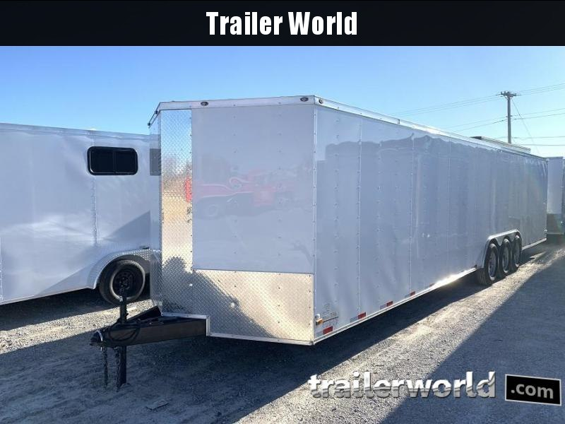 2019 34' Vnose Enclosed 2 Car Trailer