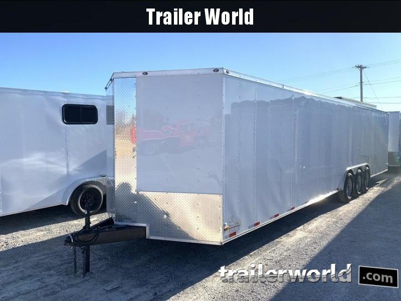 2019 34' Vnose Enclosed 2 Car Trailer