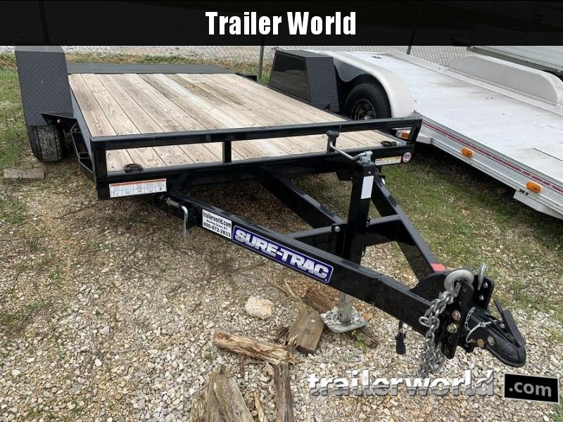 2019 SURE-TRAC 12' x 6.5'  Tilt Bed Equipment 7K GVWR