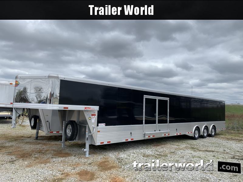 2021 Sundowner 48' Aluminum 2 Car Enclosed Gooseneck Car Trailer