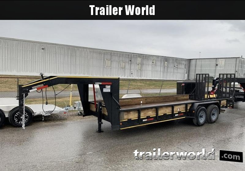 2011 Betterbuilt 22' Low Profile Gooseneck Trailer 14k GVW