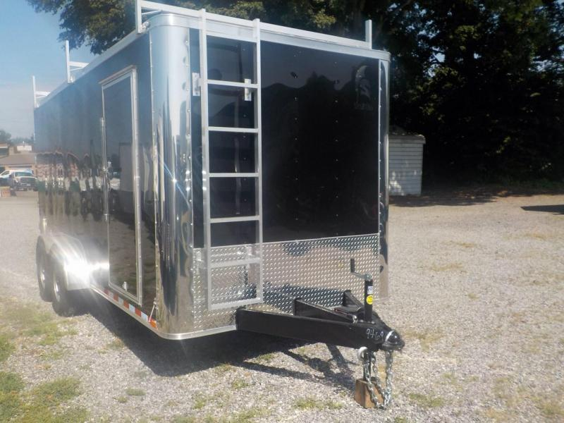 2019 Spartan SP 7 X 16 TA Enclosed Cargo Trailer