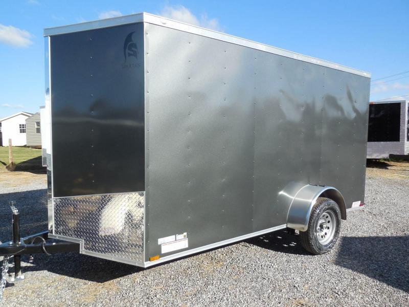 2020 Spartan Cargo SP6X12SA Enclosed Cargo Trailer