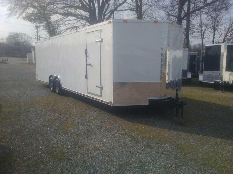 2020 Cynergy Cargo CCL8.528TA3 Enclosed Cargo Trailer