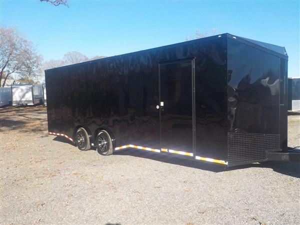 2019 Spartan 8.5 x 24 Car Hauler Black Out Package