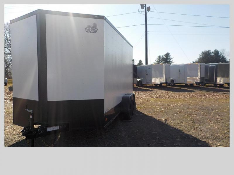 2020 Covered Wagon Trailers CW7X16TA2 Enclosed Cargo Trailer