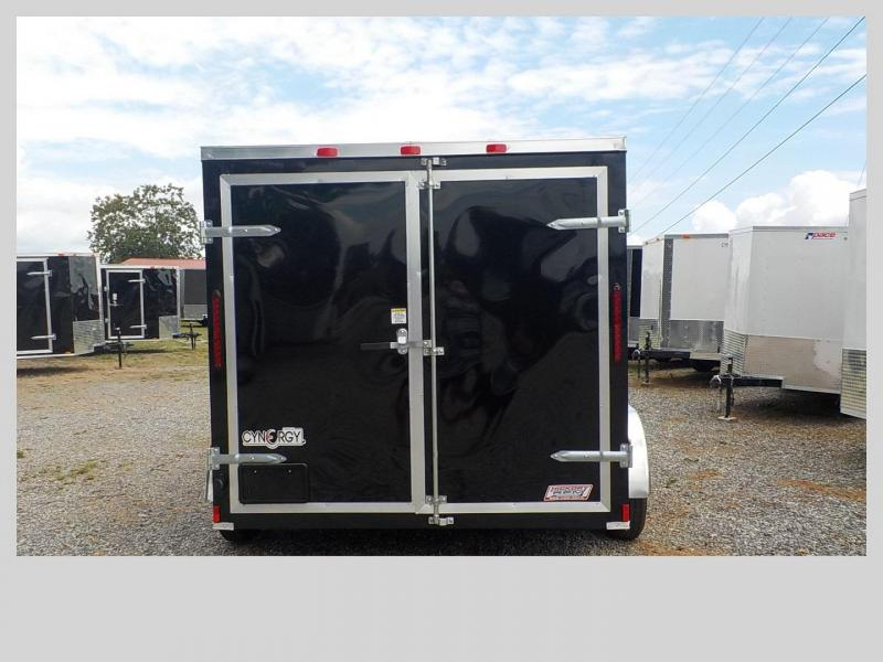 2020 Cynergy Cargo CCL7X12TA Enclosed Cargo Trailer Double Rear Doors