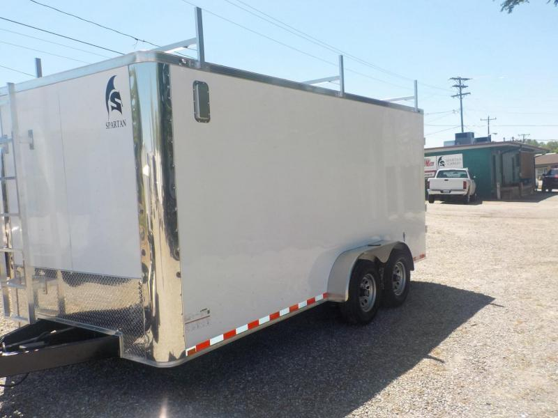 2020 Spartan SP 7 X 16 TA Enclosed Cargo Trailer