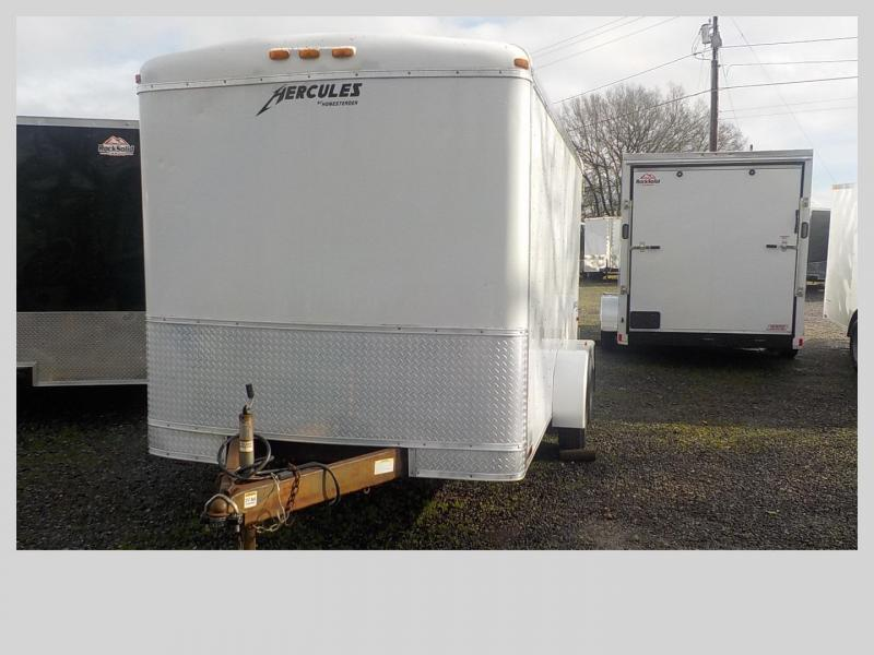 2007 Homesteader 7 x 14 Enclosed Cargo Trailer