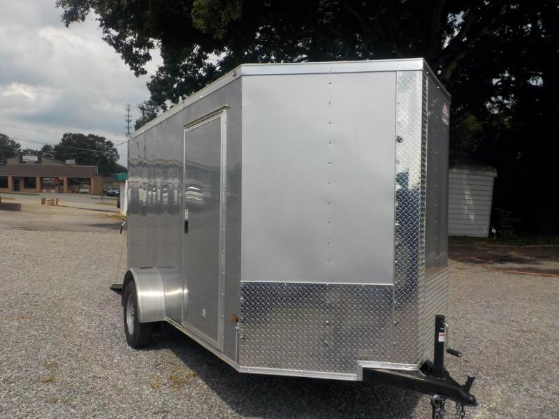 2020 Rock Solid Cargo RS6X10SA Enclosed Cargo Trailer