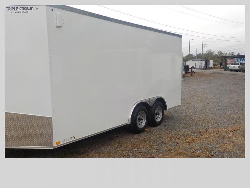 2020 Triple Crown Trailers TC8.5X16TA Enclosed Cargo Trailer