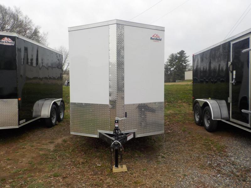 2020 Rock Solid Cargo RS6X12SA Enclosed Cargo Trailer