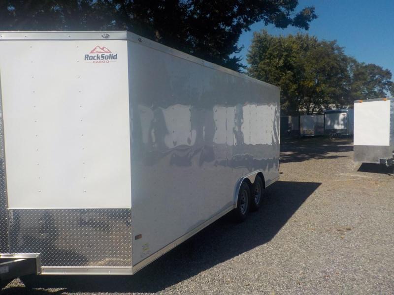 2020 Rock Solid Cargo RS 8.5 X 24 TA2 Enclosed Cargo Trailer