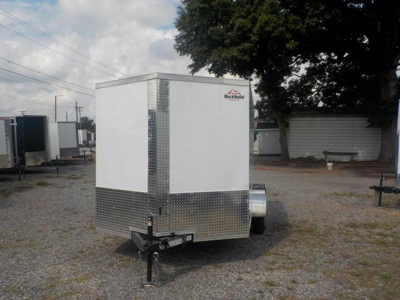 2020 Rock Solid Cargo RS7X12SA Enclosed Cargo Trailer