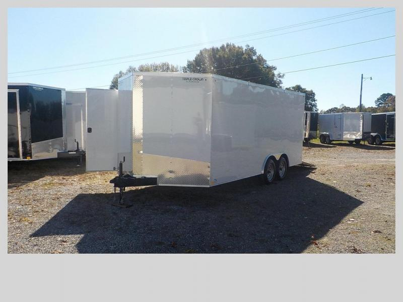 2020 Triple Crown Trailers TC8.5X18TA2 Enclosed Cargo Trailer