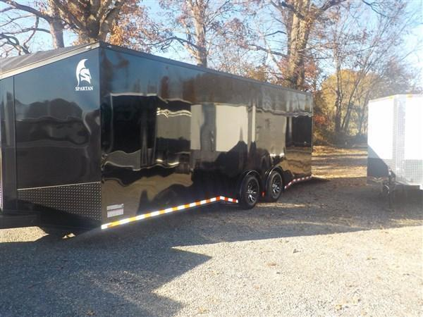 2020 Spartan 8.5 x 24 Car Hauler Black Out Package