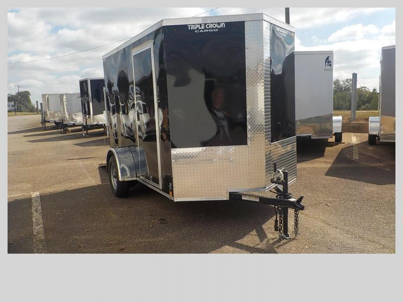 2019 Triple Crown Trailers TC6X10SA Enclosed Cargo Trailer