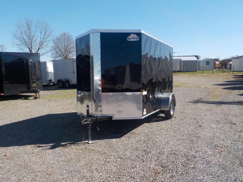 2020 Rock Solid Cargo RS6X10SA Enclosed Cargo Trailer