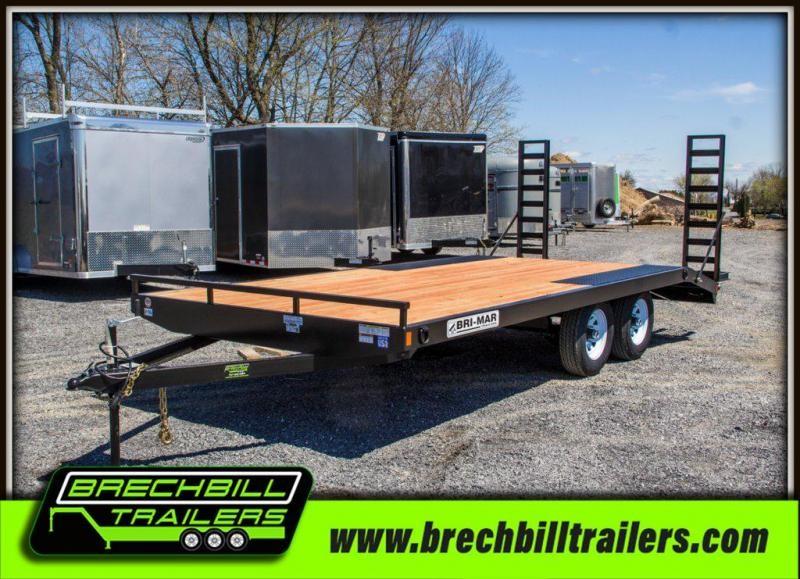 2019 Bri-Mar (EH18-10ELE) Equipment Trailer $89/month