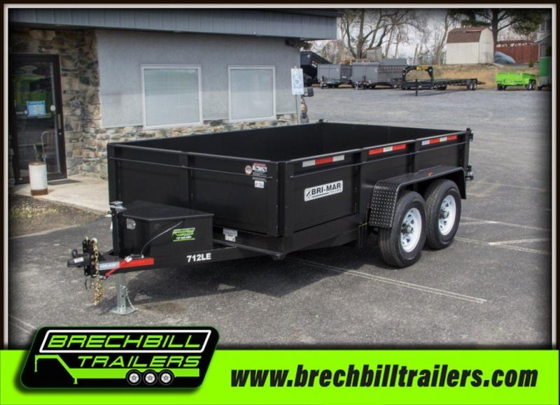 2020 Bri-Mar (DT712LP-LE-12) Dump Trailer $139/month