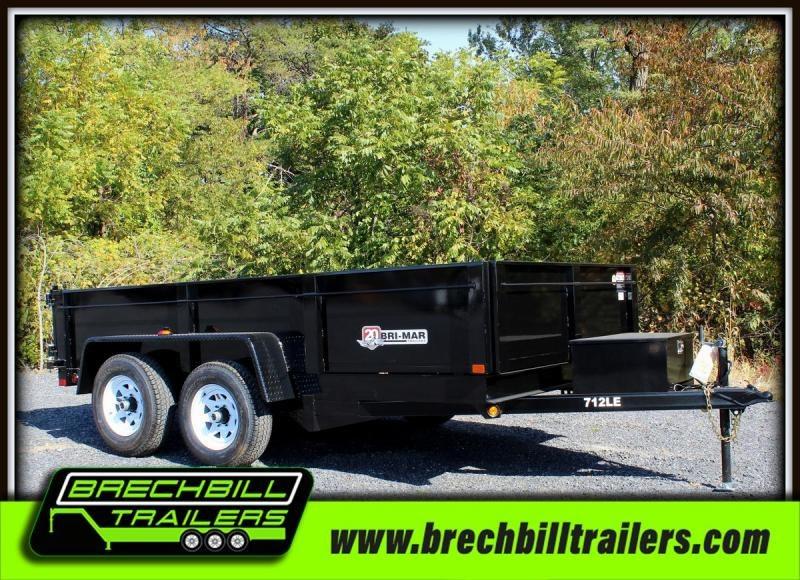2020 Bri-Mar DT712LP-LE-10 Dump Trailer $135/month