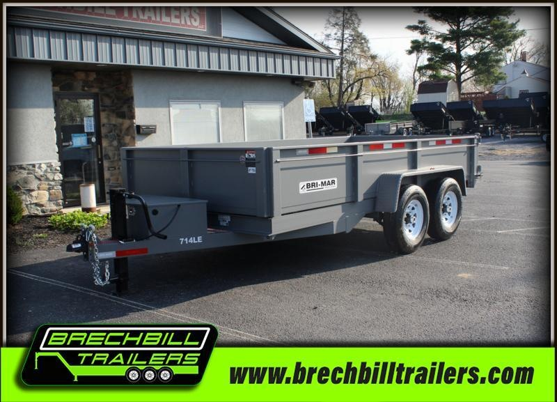 2020 Bri-Mar DT714LP-LE-14 Dump Trailer $166/month