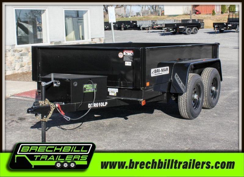 2020 Bri-Mar (DTR610LP-10) Dump Trailer $101/month