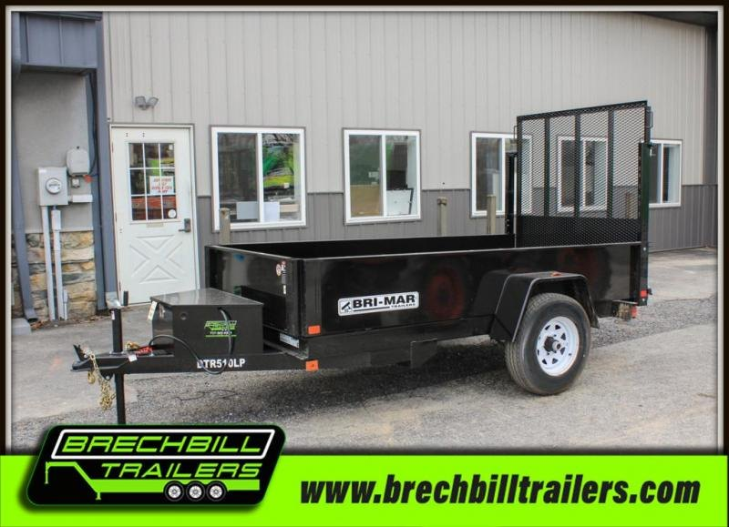 "Bri-Mar Dump Trailer 60""x10'x5K (DTR510LP-5) $88.00/month"