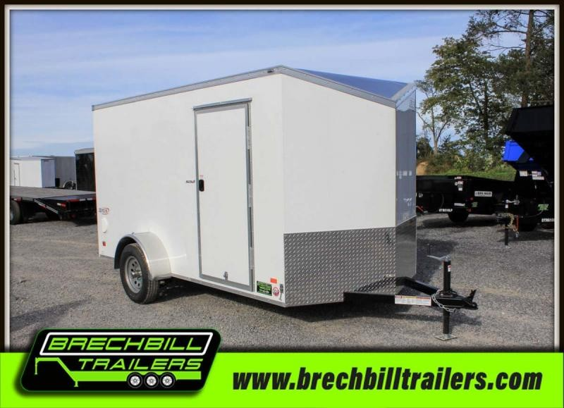 "Bravo Scout Enclosed Cargo Trailer 68""x12'5""x3K (SC612SA) $74/month"