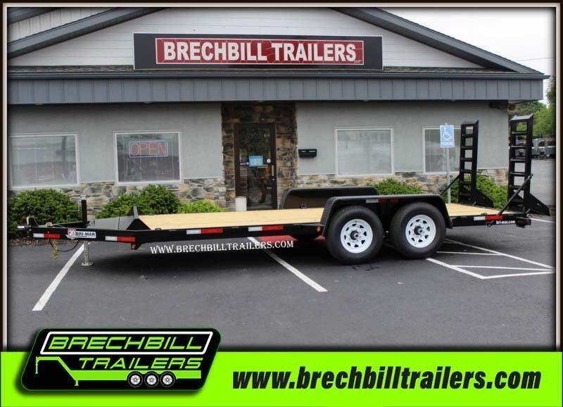 """Bri-Mar Equipment Trailer 82""""x18'x12k (EH18-12) $114/month"""