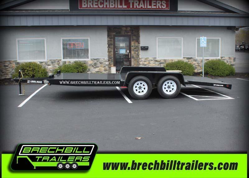 "Bri-Mar Car-Hauler Trailer 102""x18'x7K (CH18-7-FULL) $89/month"