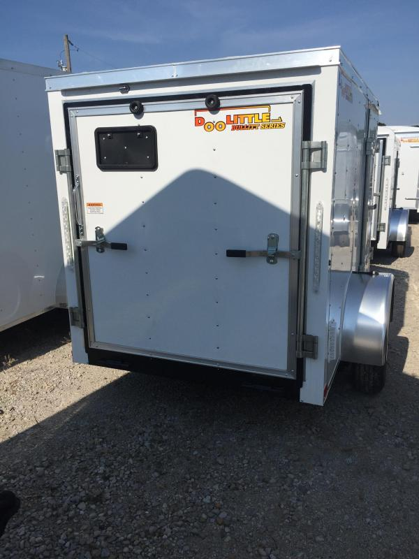 2020 Doolittle Trailer Mfg 5x8 Enclosed Cargo Trailer