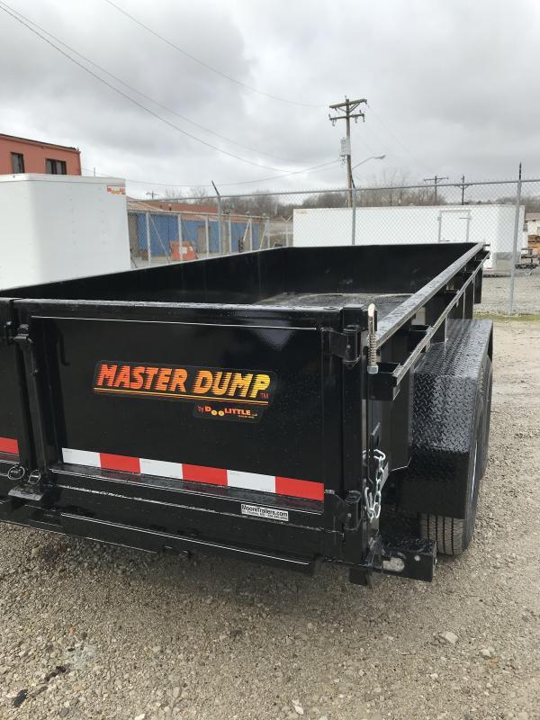2020 DooLitttle Trailers 82x16 Dump Trailer