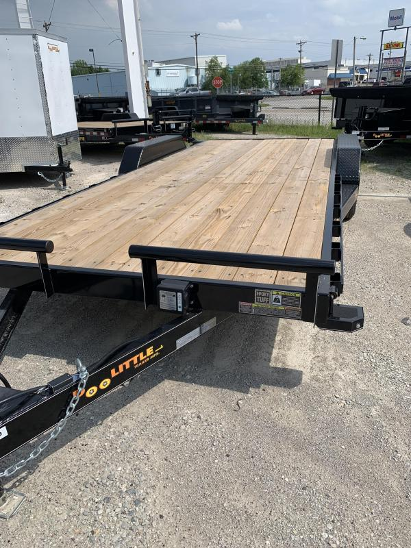 2019 Doolittle Trailer Mfg 84x20 Equipment Trailer