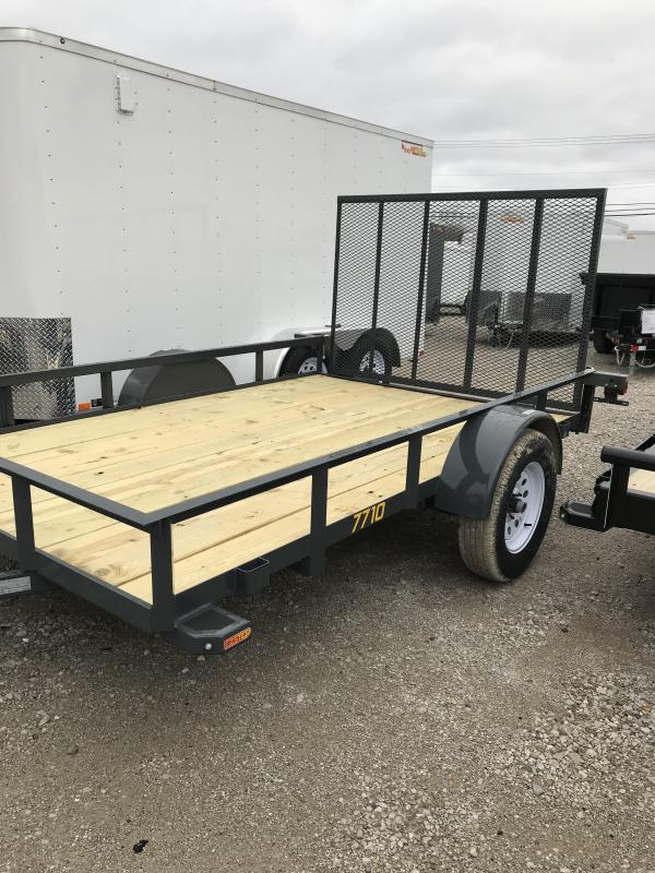 2019 Doolittle Trailer Mfg 77x10 RS Utility Trailer