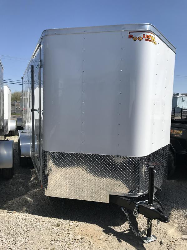 2020 Doolittle Trailer Mfg 7x16 Enclosed Cargo Trailer