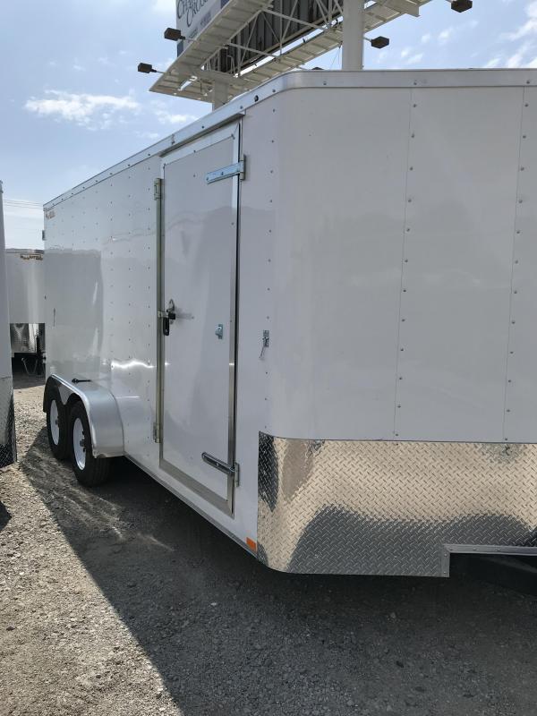 2020 Doolittle Trailer Mfg 7x16 Enclosed Cargo Trailer