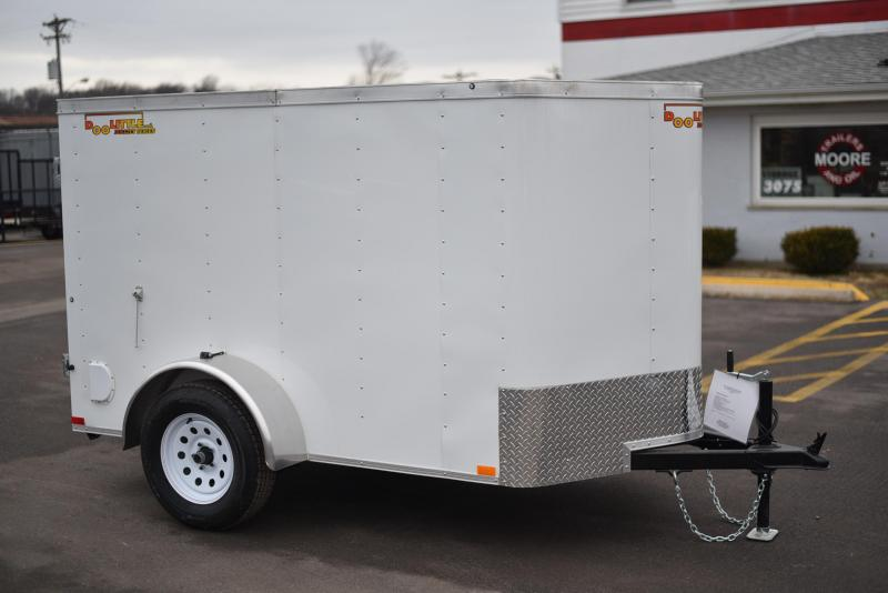 2020 DooLitttle Trailers 5x8 Enclosed Cargo Trailer