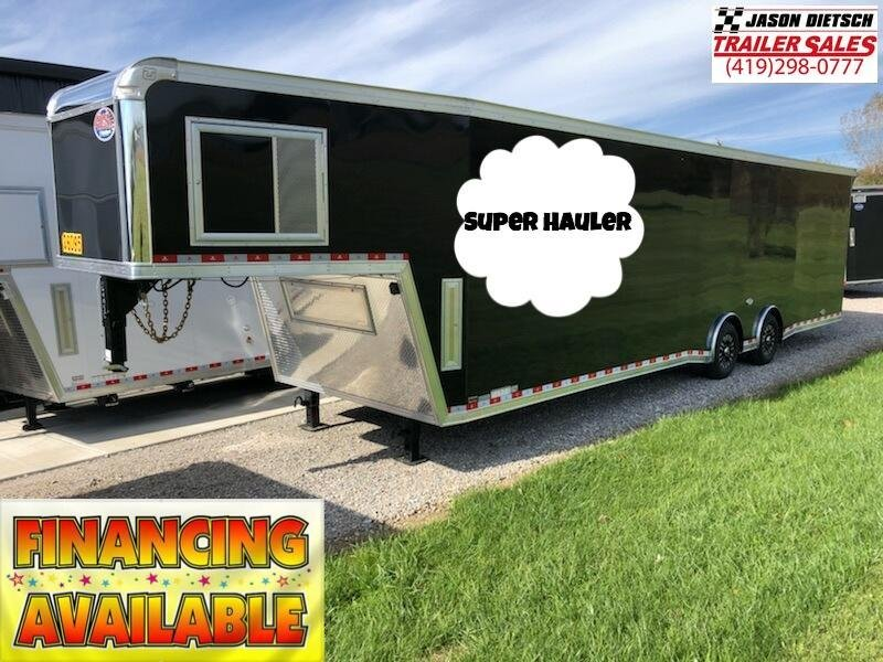 2019 United Trailers 8.5X40 SUPER HAULER Car / Racing Trailer....Save $3600