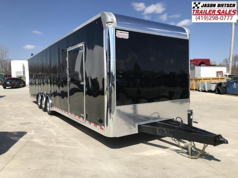 2020 United Trailer UXT 8.5x34 Enclosed Extra Height Carhauler....Stock#UN-166887
