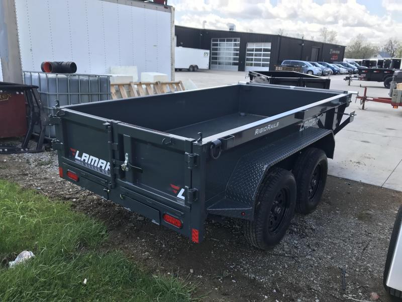 2020 Lamar 60X10 **Mini Dump** Trailer