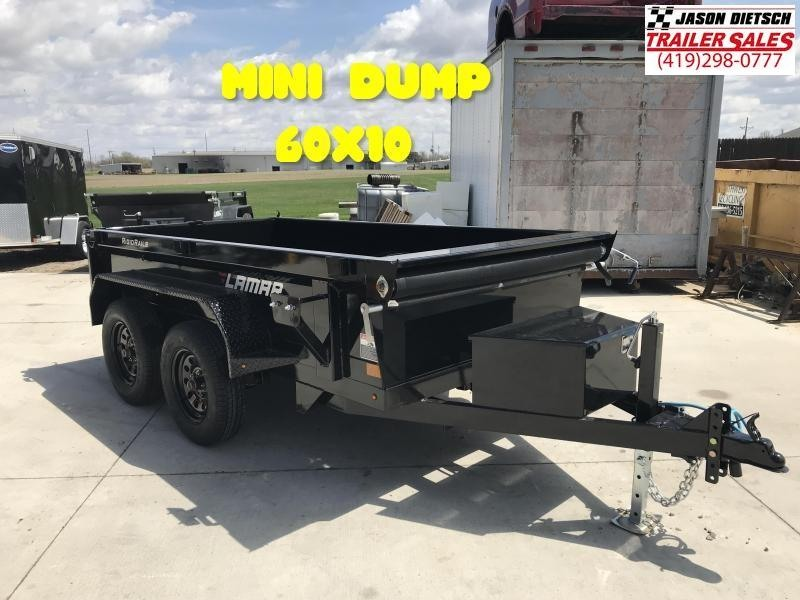 2020 Lamar 60X10 **Mini Dump** Trailer