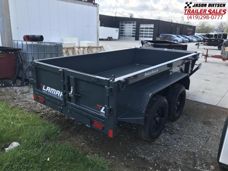 2020 Lamar Trailers 60X10 MINI Dump Trailer....STOCK# LM-083844