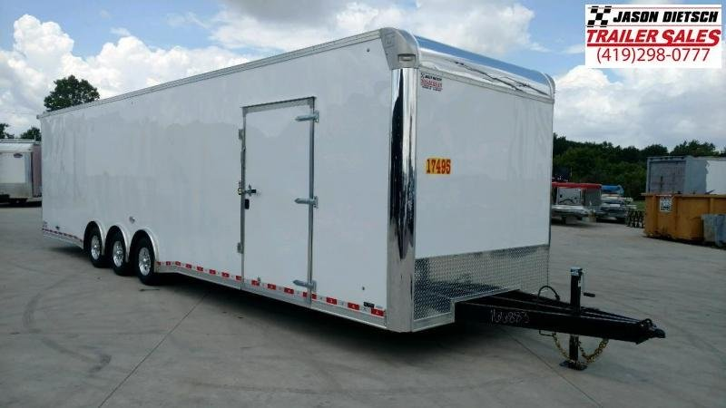 "2020 United UXT 8.5X34  Car/Race Trailer 12"" Extra Height"