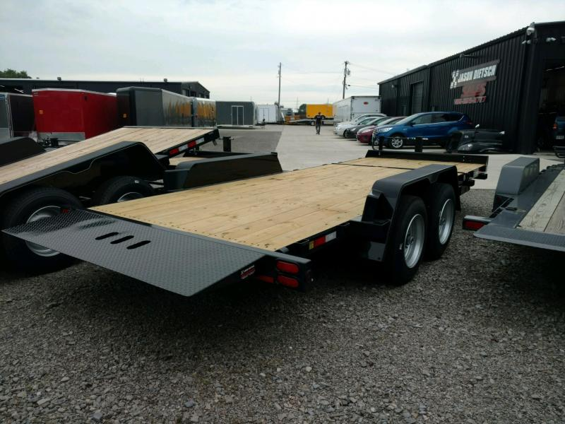 2020 Behnke 16K 83X16 Tilt Equipment Trailer