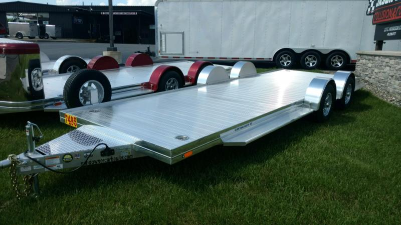 2020 Sundowner 6.9X22 Sunlite OPEN Car Trailer.... STOCK# SD-FA8009