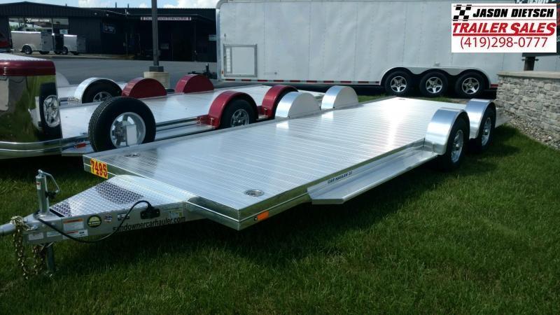 2020 Sundowner Sunlite 6.9X22 Open Equipment/Car Trailer