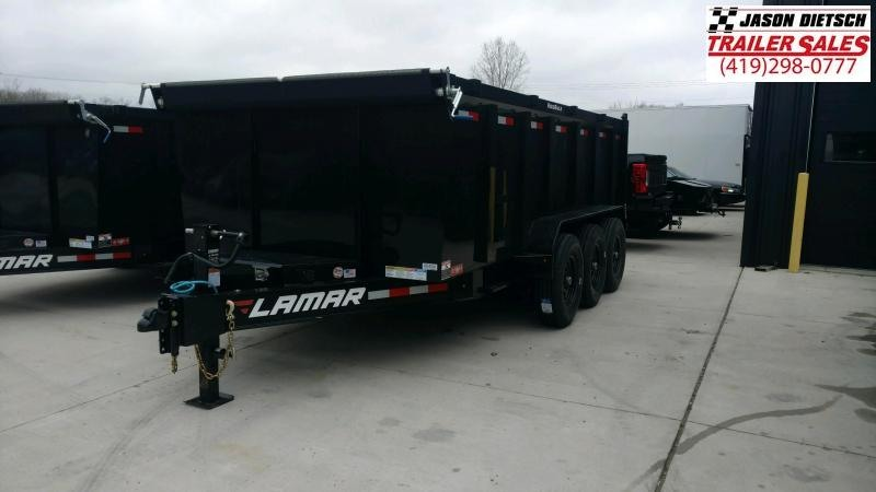 2020 Lamar 83X16 LOW PRO Dump Trailer 21K STOCK.... NUMBER  088494