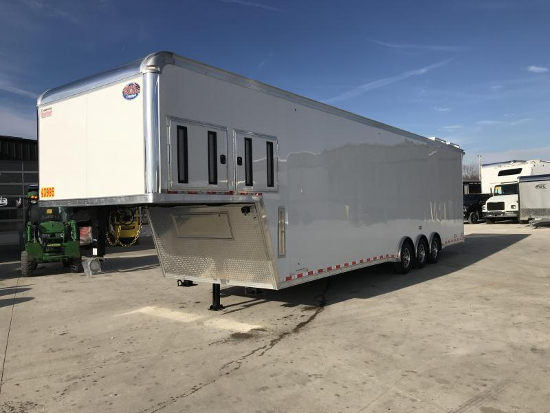 2020 United Trailers 8.5X40 **RAMP OVER** Car / Racing Trailer....STOCK# UN-169384